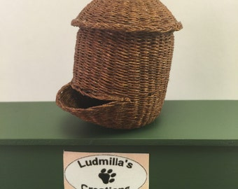 basket for potatoes in 1/12 scale