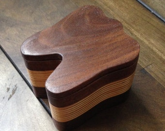 Wood Tooth Box