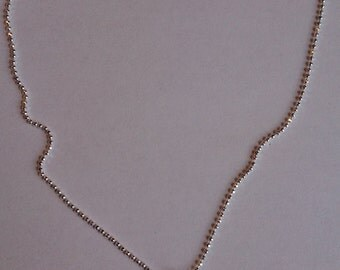 PIF Pay it forward Angel Wings silver tone lightweight necklace chain