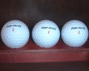 ROSEWOOD Golf Ball Display