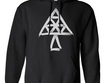 Black Sweatshirt w/brushed logo