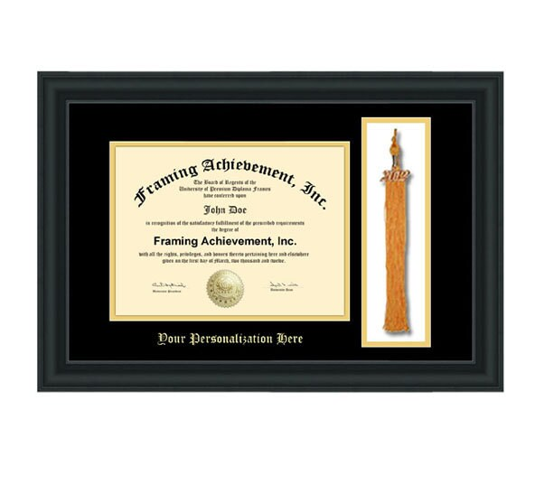Graduation Tassel Holder Frame College Diploma Frame Top