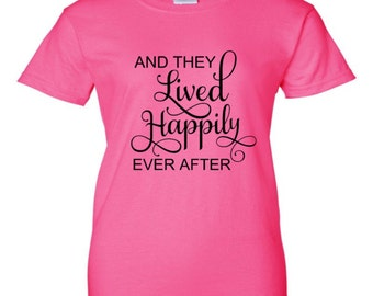 Happily Ever After Tees Etsy