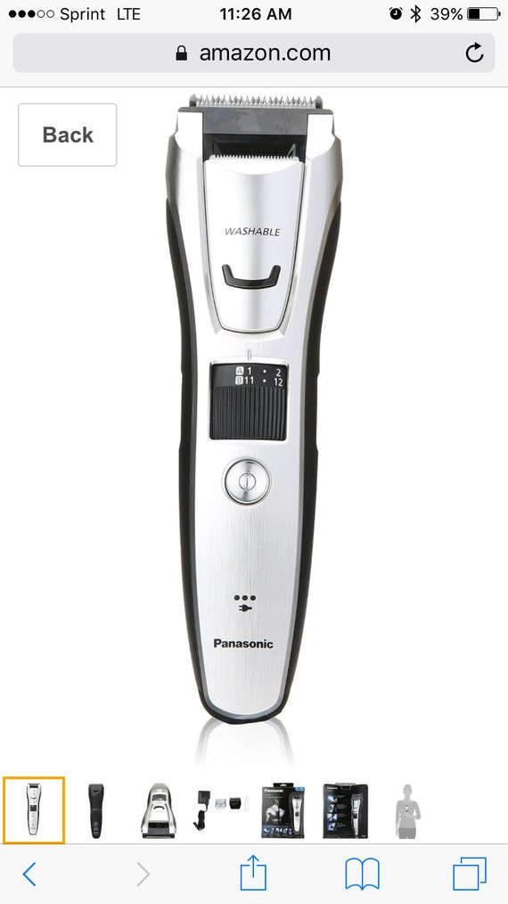 panasonic er gb80 s beard trimmer. Black Bedroom Furniture Sets. Home Design Ideas