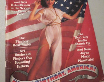 Vintage Playboy July 1976 Magazine