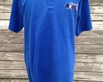 Vintage 90s ORLANDO MAGIC Logo 7 Henley T Shirt - large / XL - tall