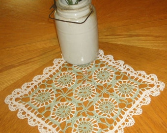 "Hand Crocheted Doily ""Gabrielle"""