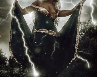 """Marvel """"X-men"""" Storm cosplay"""