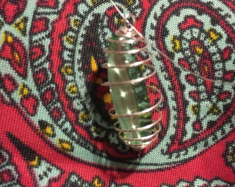 Light Green Obsidian Wrap