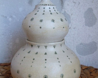 Ceramic Jar with bulb cover