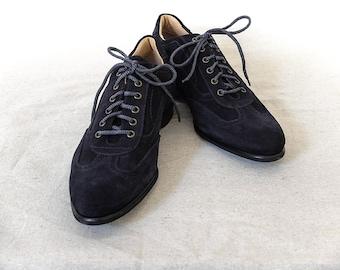 Aspen (Oceano) SZ 11 HANDMADE Italian Men's Suede Sneaker (50% off)