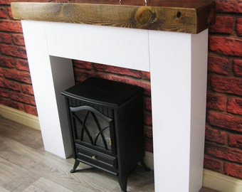 Modern Chunky Fire Surround with Sleeper