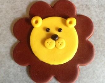 Safari Fondant Cupcake Toppers
