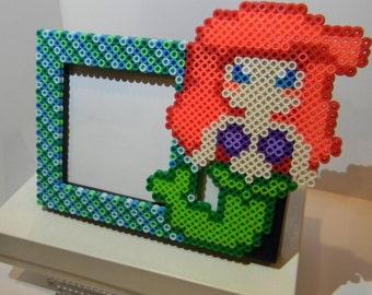 Disney Little Mermaid Ariel Perler picture frame