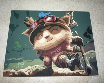 League of Legends Teemo Painting
