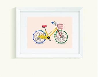 Vector Bike Poster
