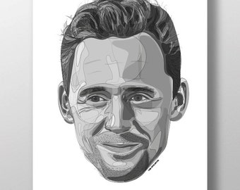 Tom Hiddleston Print
