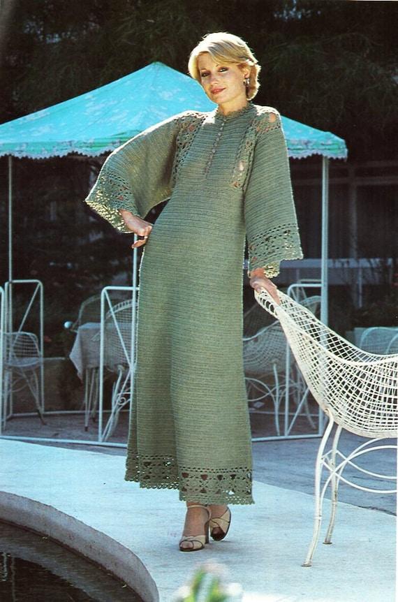 Womens Crochet Dress Pattern Crochet Pattern Pdf Ladies Crochet