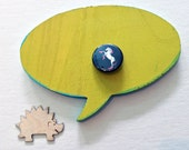 1.25 Inch Unicorn Button: Roller Skating Unicorn Pinback Button, Roller Derby Button, Unicorn Button