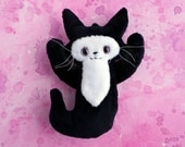 Mini Ghost Cat - A soft friend to blame all your troubles on