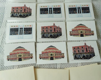 12 Notecard Set - Buildings of London