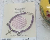 Facet Amethyst with love them