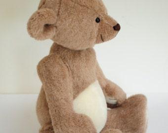 Mouse - one of a kind mohair artist teddy bear, 16 inches, by BigFeetBears