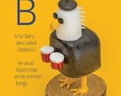 barry the bohemian bald eagle