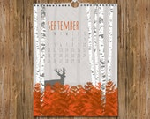 2016 Wall Calendar / Nature Wall Art Calendar