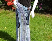 CUSTOM Knit Sarong Arctic Sky  RESERVED for Joe Cobb (mtnmanjoey)