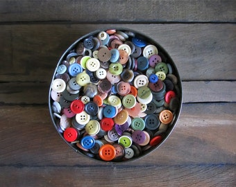 Vintage Buttons -  2 Lbs/Pounds