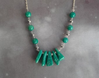 Amazonite Focal Necklace