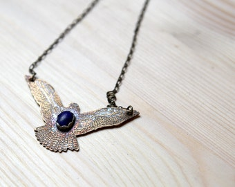 Hawk Necklace with Lapis Lazuli