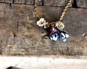 Personalized Flower Charm Necklace Kit