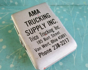 Vintage AMA Trucking Supply Inc. Advertising Clip Van Wert, Ohio Magentic