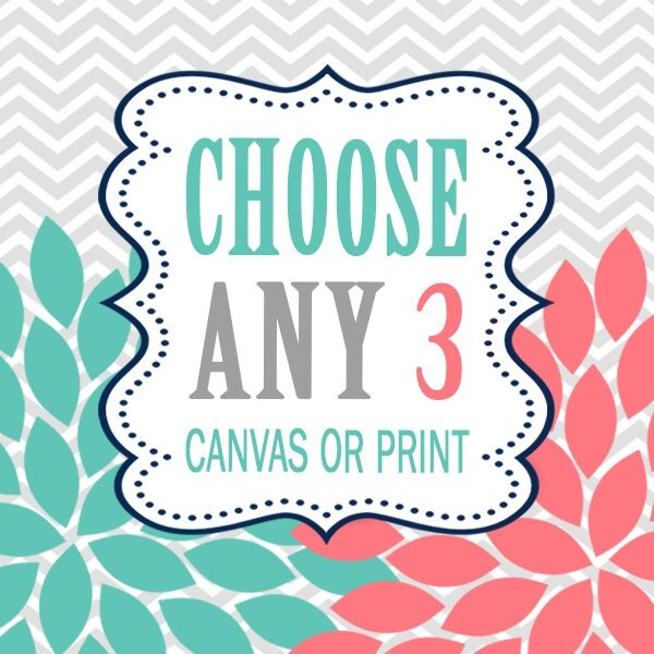 Design Your Own Wall Art Writing : Create your own set of wall art choose any three by