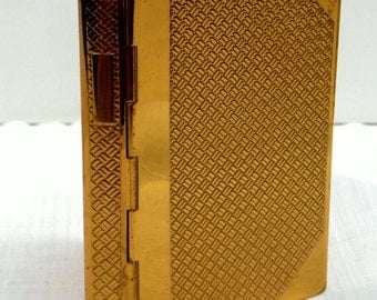 Vintage Coty Compact Novelty Book Compact For Powder or Rouge DIY Pressing Retro Bibliophile