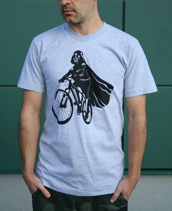Star Wars Darth Vader is Riding It - Mens t shirt ( Star Wars / Darth Vader bike t shirt)
