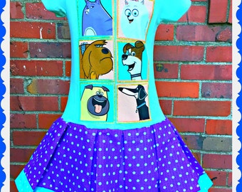 The Secret Life of Pets dress 4/5 6/6X 7/8 10/12 and 14/16