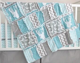 Pleated Gray Crib Skirt, Gray Dust Ruffle, Baby Crib Skirt, Grey Pleated Crib Skirt, Grey Dust Ruffle, Baby Girl Nursery, Baby Boy Bedding
