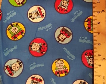 Thomas the Tank Engine Fabric blue