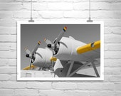 Pan Am, Aviation Art, Airplane Art, Pilot Gift, Airplane Photo, Aircraft Picture, Flying Boat, Aeronautical Art, Canvas Print, Gift Art