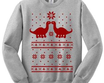 Dinosaur sweater | Etsy