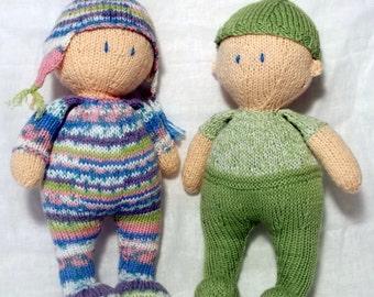 Jo-Jo dolls Knitting Pattern