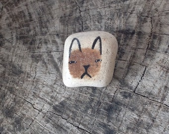 Beach Pottery Cat - Totem, Animal Medicine, Spirit Animal, Healing
