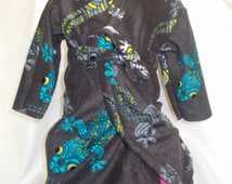 Boys robe, custom boys robe, Toddler robe, toddler hooded robe, kids hooded robe, kids robe, custom fabric choice, toddler gift