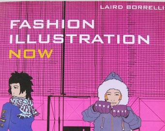 Fashion Illustration Now by Borrelli, 2004, Fashion Art, Fashion Illustration book, Fashion book, Art book, Fashion design