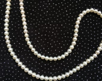4.5mm White Freshwater Pearl Necklace  N5