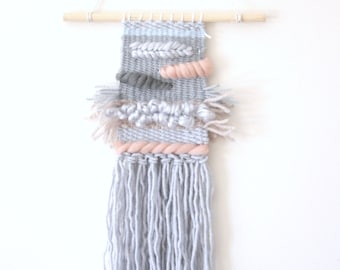 Handmade woven wall hanging \ weaving wall art