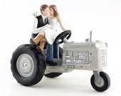 Tractor Western Cake Topper - 707572